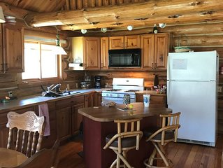 Remote Log Home on Northbranch of the Boardman River!