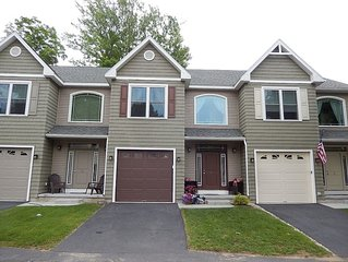 A beautiful townhouse located within walking distance of Bolton Landing