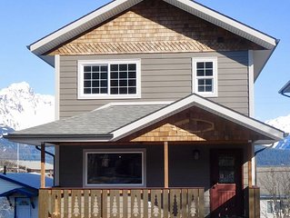 Prime Location in the heart of Seward with a view of Mt. Marathon and the Bay.