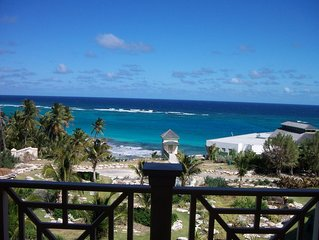 The  Crane Resort: Ocean Front 2 bedroom, 3 bath,  private pool, Sleeps 6 VIEWS!