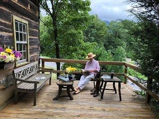 Historic Pea Ridge Cabin, circa 1820, outskirts of Tryon, NC