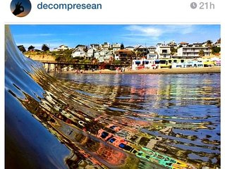 Capitola Beach  FRONT Venetian Condo - on the Beach
