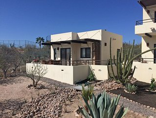 Air conditioned casita, with stunning view across Bay of La Paz