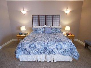 NEW! Meadowlark Heritage B&B Master Suite (1 luxurious master studio w/lrg bath)