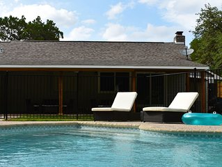 Relaxing Retreat Near the Best of Gruene and New Braunfels