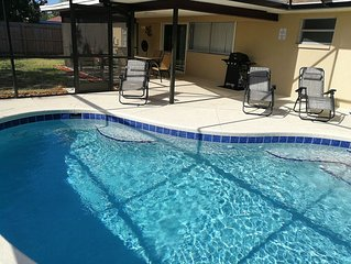 *NEW* 3BR Vacation Heated Pool Home, Bradenton, 6mil. To Anna Maria Beaches