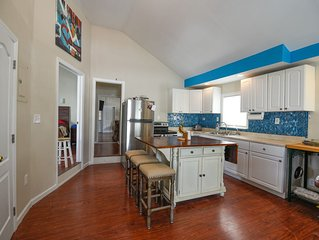 Bright Home Steps from Beach and Boardwalk!