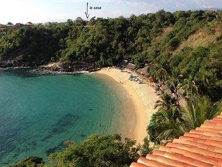 Beautiful studio steps To Carrizalillo Beach
