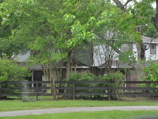 Ranch Home built in 1989 with Lots of land to walk around and enjoy fresh air.