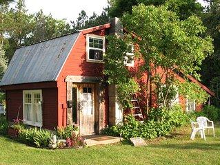 Cozy Clean Cabin Lavender Farm accessible Upper Platte River 600./Wk