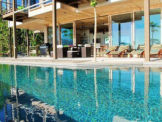 Architectural Masterpiece with panoramic ocean and jungle views