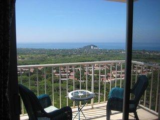 16th Floor Island Retreat Ocean and Mountain Views
