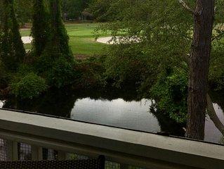 Beautiful Treetop Condo includes  free Golf