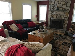 Enjoy the Lake and Ski House Located across from Mt. Sunapee