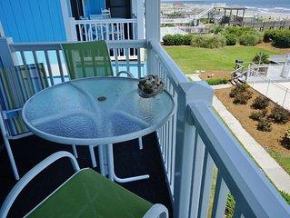Beachfront 3 Bedroom Condo at beautiful Ocean Isle Beach, NC