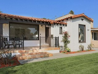 Stunning Spanish Casa + New Kitchen + Big backyard with Fire-pit
