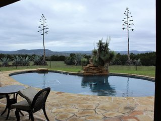 Pool, Hot tub, Incredible Views, stocked fishing pond, 6 bedrooms, Sleeps 18!