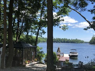 Lakefront Home on Beautiful Big Sebago Lake