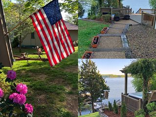 Come and enjoy the Holiday's at Hickory Ridge Cabin on Tims Ford Lake!