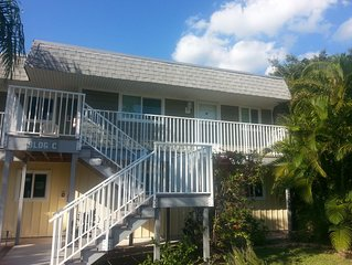 'Paradise found' Island Sands on Fort Myers Beach -2 BR/2 B