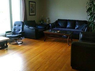 Spacious 3 bedroom apartment