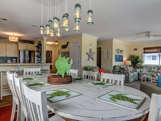 Welcome to HappyHours!!! 4BdRm, 3Bth, Private Beach Access and Amazing Ameniti