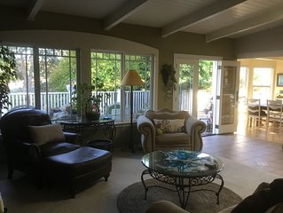 Private family Central coast comfort. Entire home, lg back yard, hot tub, BBQ