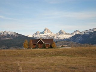 Truly A View To Die For, Nestled Under The Tetons In Teton Valley Idaho