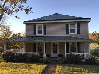 Michie Shire Farmhouse in Lexington, VA