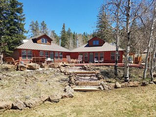 Aspen View Cottage #2, 1 o 3 side by side cabins, sleeps 30 total