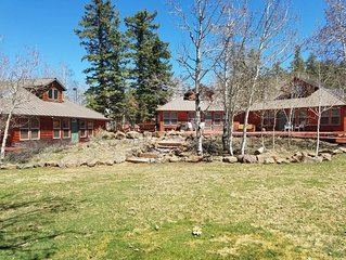 Aspen View Cottage #3, 1 of 3 side by side cabins, sleeps total of 30