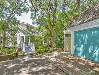 Beautiful 3BR home on Bald Head Island - short walk to beach