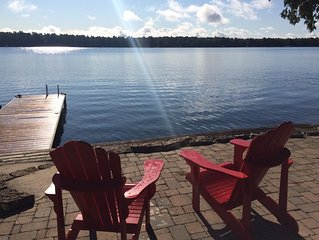 Lakefront Cottage on Beautiful Balsam Lake $405/night Canadian