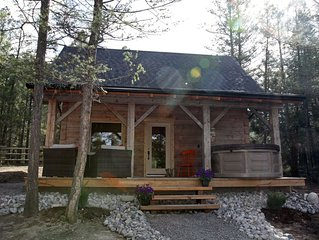 Luxury Cabin with Swimming Pool