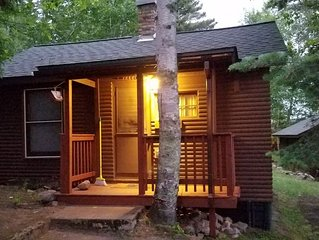 Vintage Vermilion – Cabins and Retreat (Birch Cabin) Beautiful Lakeside Cabins