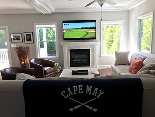 New, Centrally Located,  West Cape May Beach House