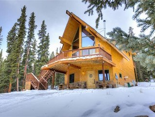 Beautiful Mountain Cabin w/ Privacy and Mountain Views!