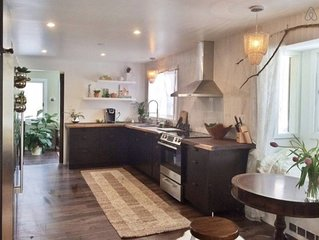 Cool + Chic 4 Bedroom Chalet with tons of character that's Close to Everything