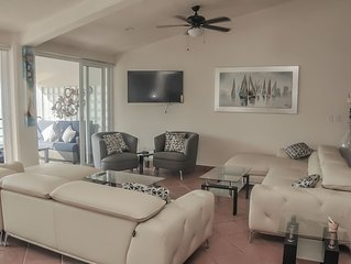 EXTRAORDINARY, 3 BR PENTHOUSE, OCEAN FRONT , Largest in PV