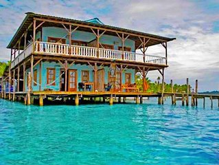 Queen Suite Over the Sea Bocas del Toro, Panama RM#2