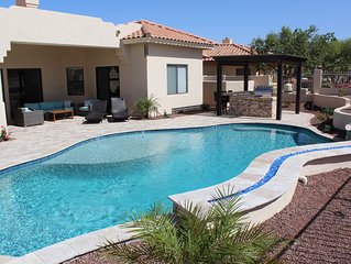 Resort Living with Pool, Grill area, Fire Pit & Backyard Oasis