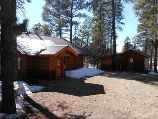 La Plata Mountains Cabins - 2 Cozy Log Cabins In SW Colorado Near Mesa Verde NP