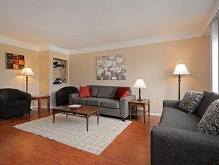 Cozy Quiet Upper Suite Fully Furnished & Utilities, 2 queen bedrooms, 1 sofa bed