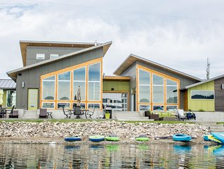 Your Big Sky waterfront getaway - privacy, luxury, and fun!