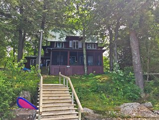 Island Escape Cottage, Thousand Islands, Family-Friendly, Channelside