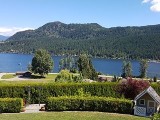 Stunning, unobstructed lake and mountain view home.