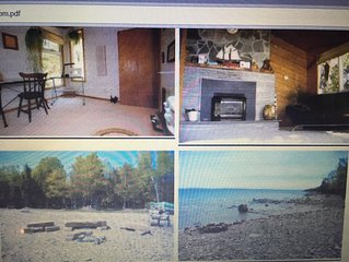 Private, gorgeous, two bedroom, Georgian Bay waterfront house on a 1 acre lot