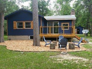 Cute, remodeled cabin on peaceful Star Lake in Crosslake, Minnesota
