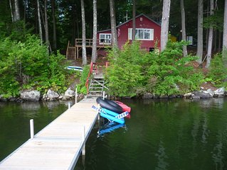 Beautiful Waterfront Cottage On North Pond In Maine's Belgrade Lakes Region