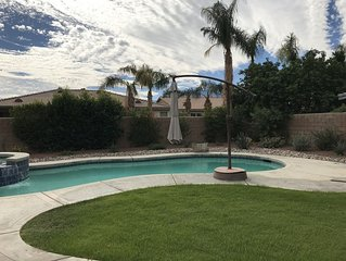 Large home w pool close to Coachella & Stagecoach & Indian Wells Tennis Gardens